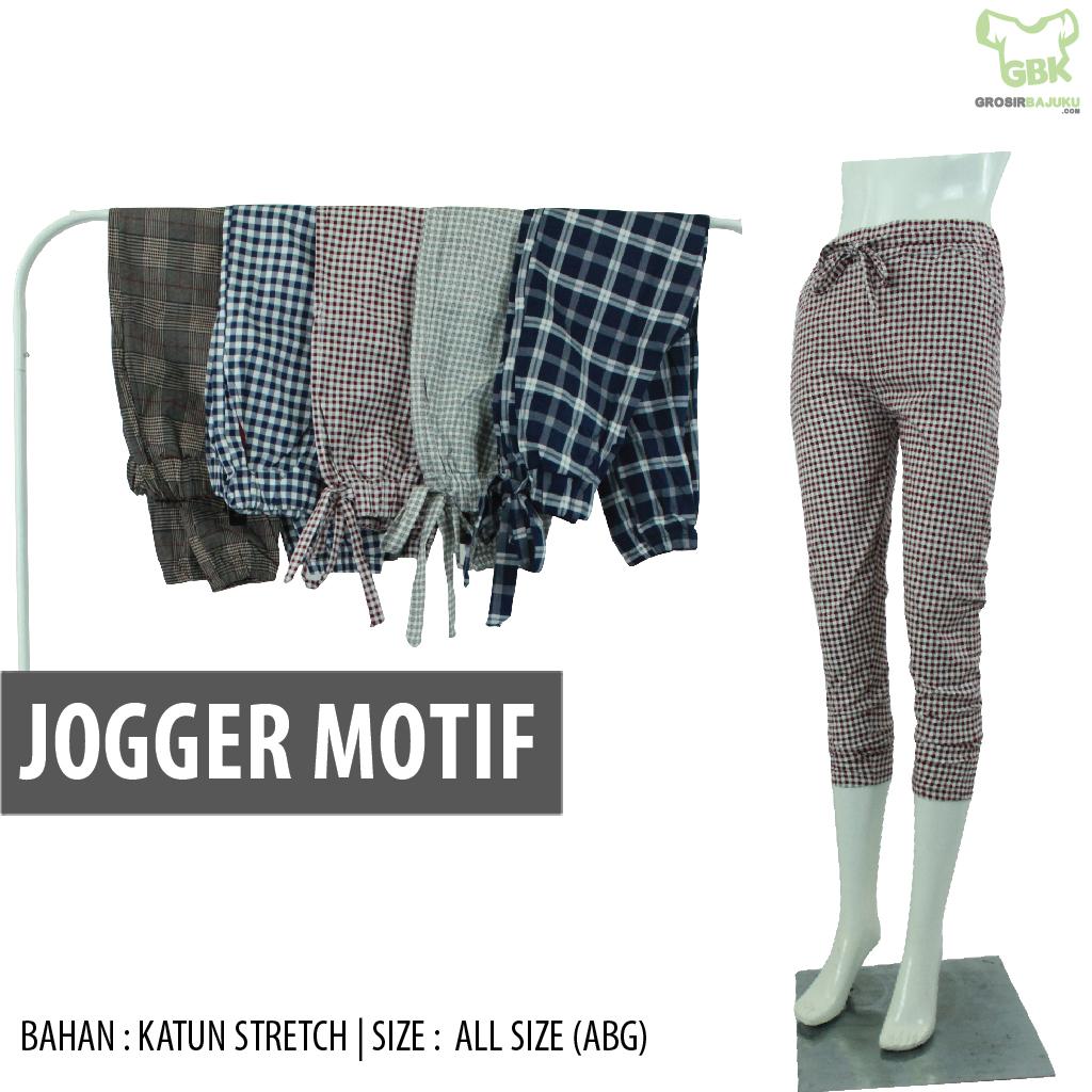 Jogger Motif Dewasa