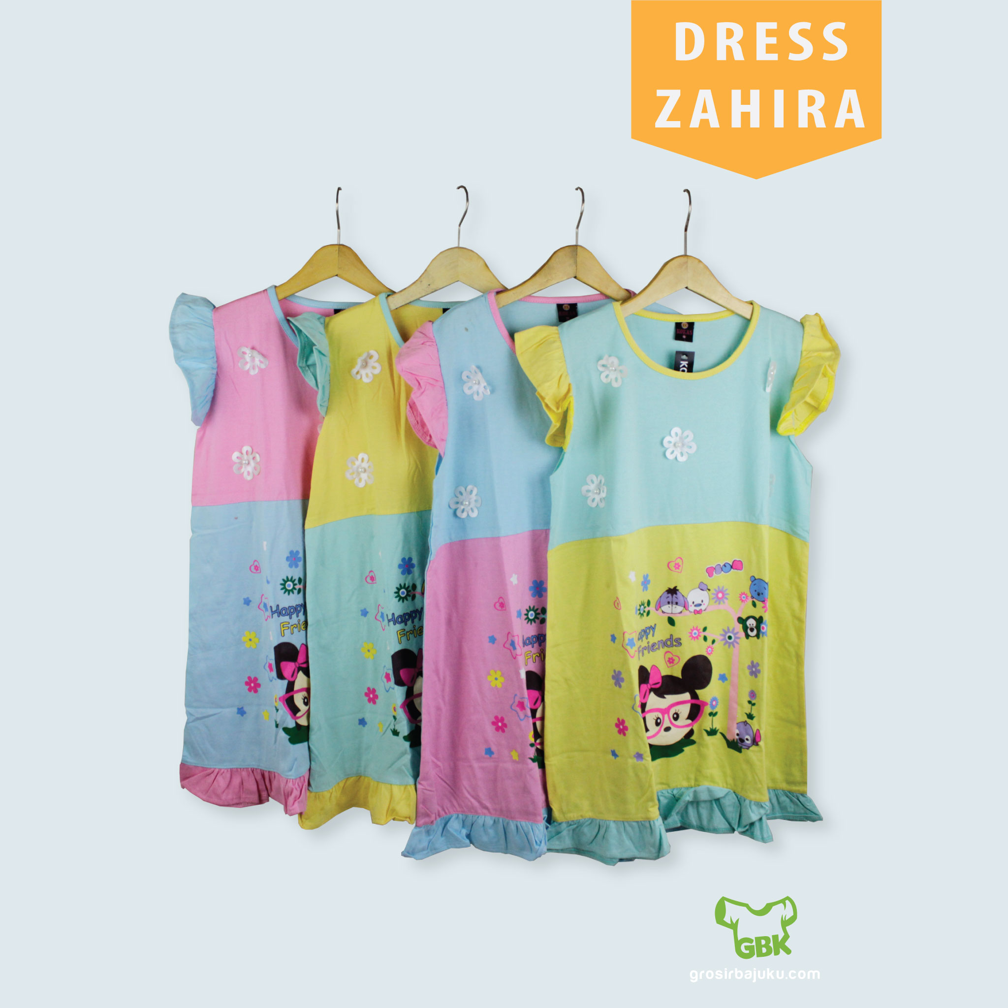 Dress Zahira Anak Murah
