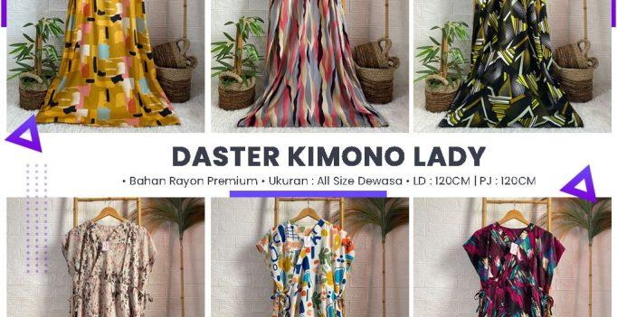 Daster Kimono Lady